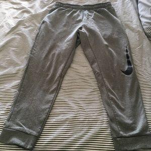 Nike grey thermafit sweats!